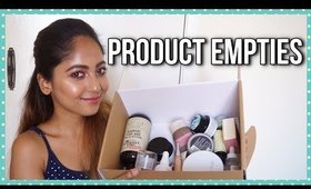 PRODUCT EMPTIES | MAKEUP, HAIRCARE & SKINCARE | Stacey Castanha
