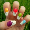 Balloon Nails (all five fingers)