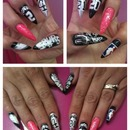 My NBA FINALS NAILS 2013