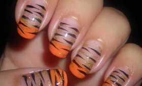 Nail Art - Easy Tiger (Animal Print Series)