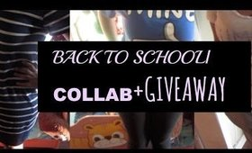 BACK TO SCHOOL LOOKBOOK/ COLLAB+ GIVEAWAY
