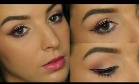 Hot Pink Graphic Liner Makeup Tutorial ♥