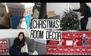 Decorating the Tree, Christmas Room Decor & Hangry Husband! | VLOGMAS #8