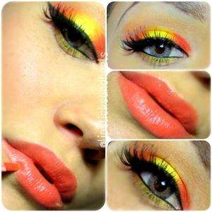 Inspired by mya mias sunset look