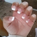 French Manicure - Acrylics