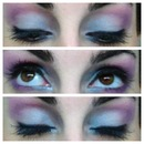 Blue/Pink Eyeshadow Mix