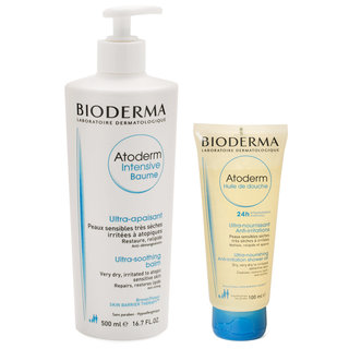 Atoderm Intensive Balm + Atoderm Shower Oil