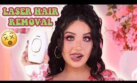 THE TEA ON AT HOME LASER HAIR REMOVAL   REVIEW + Q&A