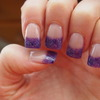 Purple Sky Nails