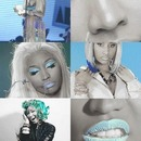 Nicki Minaj Blue Look
