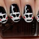 The Bride of Frankenstein's Monster Nails