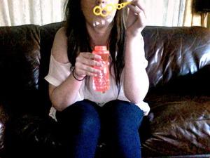 Photo I took using webcam a few years ago.