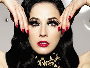 I know this isn't my work !  Dita Von Teese is just so inspirational, I love her look it's just so unique and fearless !