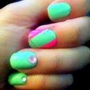 1st nail design