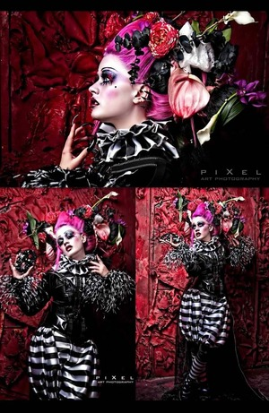 More inspiration, this photographer does amazing work with his MUA, Pixel Photography I'm not sure who the MUA is though.