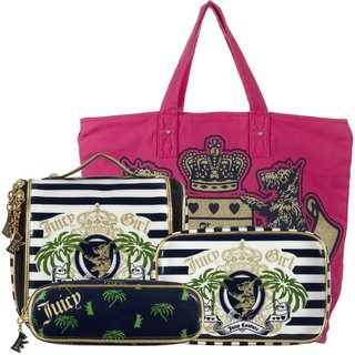 Juicy Loves Sephora Blue Palm Bag Collection