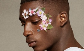 We're Inspired: Christopher Shannon's Floral Menswear Makeup