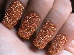 TUTORIAL : https://www.youtube.com/watch?v=h-kceJsHctM  Caviar Nails DIY- how to do Caviar nail art at home with 3d cavair beads - easy caviar beads designs