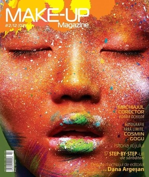 My make up magazine cover :) I used looots of ingridients for this look:airbrush paints, diamond fx aqua  )))  Instagram muakatemur