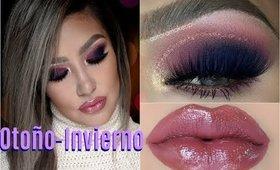 ❄Maquillaje CALIDO FRIO de Otoño-Invierno / Warm Cold  makeup tutorial   auroramakeup