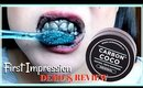 Carbon Coco Teeth Whitening First Impression Demo & Review