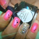 Pink Voltage ( Neon) / Black Ciate / Opi  Piroquette My Whistle
