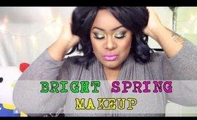 BRIGHT Spring Makeup