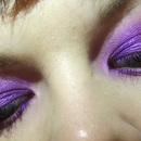 Purple and Cherise