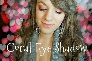 Coral Eyeshadow