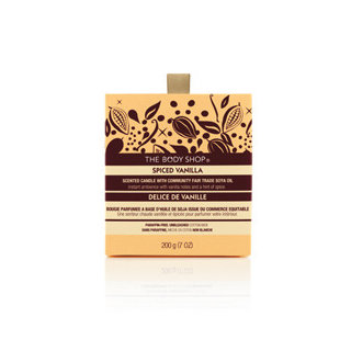 The Body Shop Spiced Vanilla Scented Candle (Holiday 2011- Limited Edition)