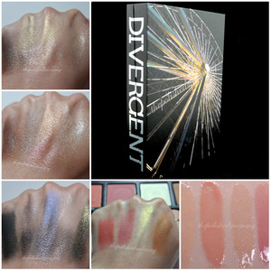 Swatches of the Sephora Divergent Multi-Piece Collector's Kit on the blog today: http://www.thepolishedmommy.com/2014/04/divergent-multi-piece-collectors-kit.html