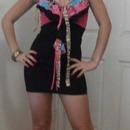 Love this cute dress!! So colourful!!