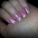 Funky French tips
