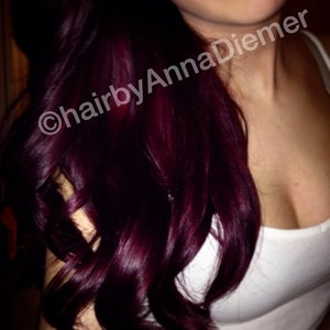 My most recent hair color ive done on myself ( I am a hairstylist do not try to get your hair this color at home )