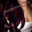 My purple hair