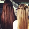 My Hair And my sis <3