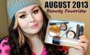August 2013 Beauty Favorites