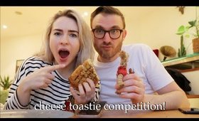 CHEESE TOASTIE COMPETITION | Weekly Vlog #140