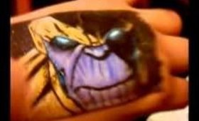 Thanos on my hand