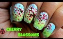 Cherry Blossoms Nailart for Spring/Summer. Tutorial