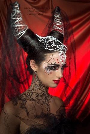 HMUA & Style: Angie Y Photographer: Ladyphoto Model: Elle Bryant