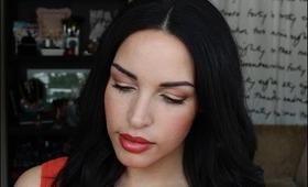 Makeup Tutorial: Orange Trendy Eyes feat. MUG