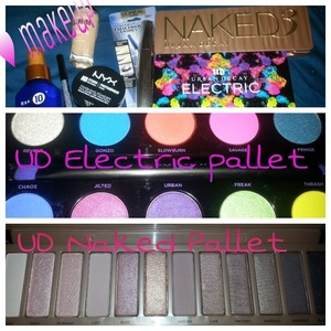 Urban Decay Electric pallet Urban Decay Naked 3 pallet