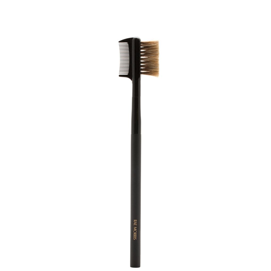 Rae Morris Jishaku Brush 18: Lash Brow Duo product swatch.