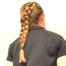 Reverse French Diagonal Braid