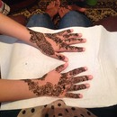 Eid Henna for My Friend!