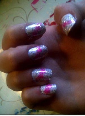 princess nails :3