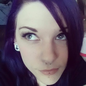 purple is so far the most fun color I have put in my hair. an impulse decision after trying to go blonde.