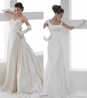 I have always been a huge historical literary geek, so I love these kinds of gowns. So beautiful and elegant! *sigh*