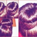 Cute Bun -Hairstyle